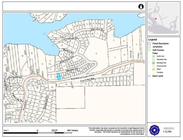 Lot 19 Wesjac Road, Pender Harbour, BC V0N 2H1 (#R2283490) :: RE/MAX City Realty