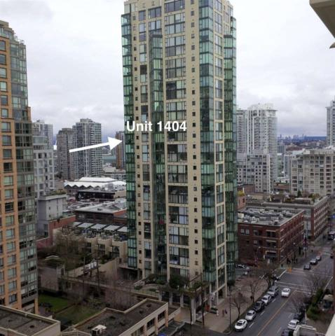 1155 Homer Street #1404, Vancouver, BC V6B 5T5 (#R2297767) :: West One Real Estate Team