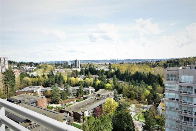 9633 Manchester Drive #1702, Burnaby, BC V3N 4Y9 (#R2330414) :: TeamW Realty