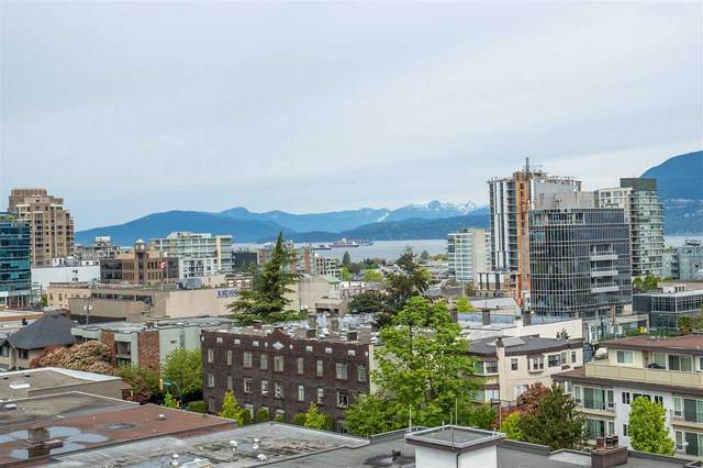 1333 W 11TH Avenue #803, Vancouver, BC V6H 0A4 (#R2569528) :: RE/MAX City Realty