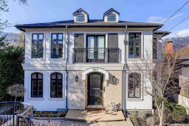 927 Jefferson Avenue, West Vancouver, BC V7T 2A3 (#R2595852) :: Initia Real Estate