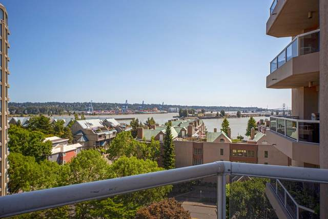 1185 Quayside Drive #906, New Westminster, BC V3M 6T8 (#R2605116) :: Premiere Property Marketing Team
