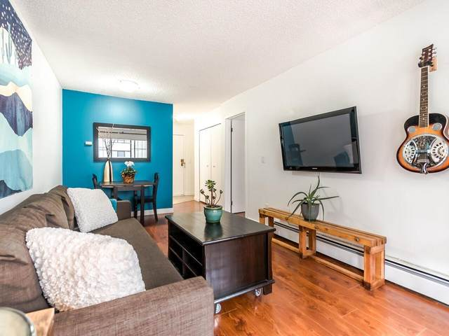 707 Eighth Street #208, New Westminster, BC V3M 3S6 (#R2625783) :: Ben D'Ovidio Personal Real Estate Corporation | Sutton Centre Realty