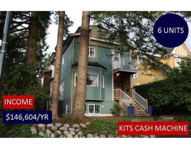 2393 W 6TH Avenue, Vancouver, BC V6K 1W1 (#R2227413) :: Re/Max Select Realty