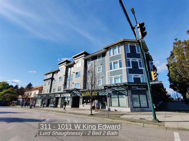 1011 W King Edward Avenue #311, Vancouver, BC V6H 1Z3 (#R2500068) :: 604 Realty Group