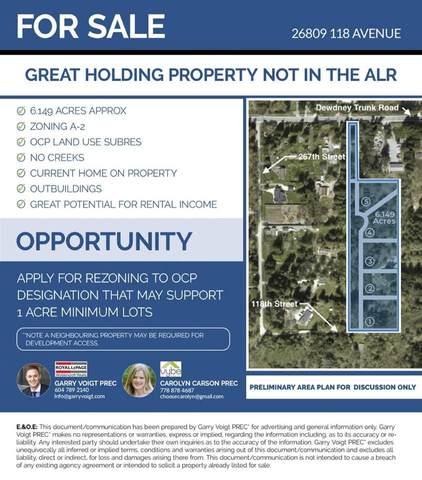 26809 118 Avenue, Maple Ridge, BC V2W 1N9 (#R2585478) :: Premiere Property Marketing Team