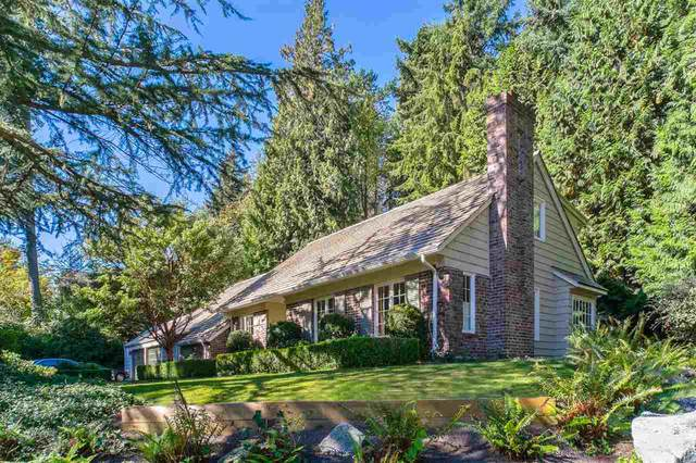 4619 Caulfeild Drive, West Vancouver, BC V7W 2T9 (#R2504032) :: Initia Real Estate