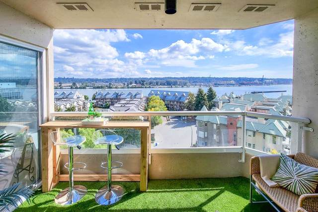 1045 Quayside Drive #802, New Westminster, BC V3M 6C9 (#R2617819) :: Ben D'Ovidio Personal Real Estate Corporation | Sutton Centre Realty