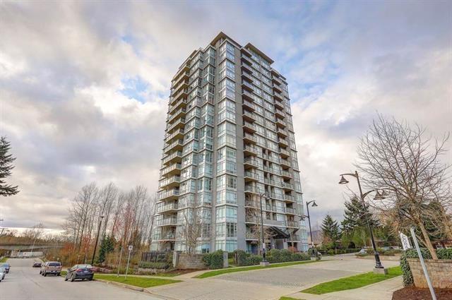 575 Delestre Avenue #1207, Coquitlam, BC V3K 0A6 (#R2258551) :: West One Real Estate Team