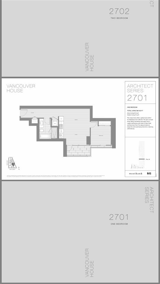 1480 Howe Street #2701, Vancouver, BC V6Z 1R8 (#R2349712) :: TeamW Realty