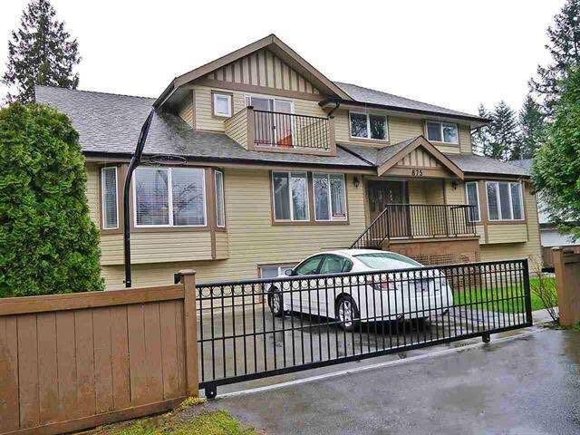 875 Greene Street, Coquitlam, BC V3C 2B9 (#R2354664) :: Royal LePage West Real Estate Services