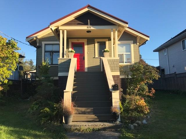 826 Tenth Avenue, New Westminster, BC V3M 3H5 (#R2379390) :: Royal LePage West Real Estate Services