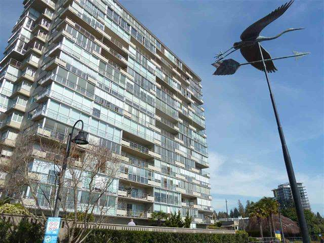 150 24TH Street #906, West Vancouver, BC V7V 4G8 (#R2540068) :: Macdonald Realty