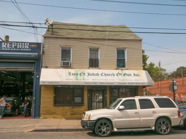 581 Liberty Avenue, BROOKLYN, NY 11207 (MLS #452024) :: Team Pagano