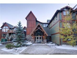 106 Stewart Creek Landing #310, Canmore, AB T1W 0G6 (#C4095261) :: Canmore & Banff