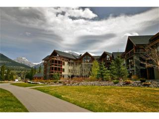 505 Spring Creek Drive #300, Canmore, AB T1W 0C5 (#C4101090) :: Canmore & Banff