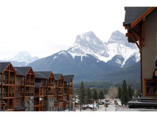 505 Spring Creek Drive #302, Canmore, AB T1W 0A1 (#C4105550) :: Canmore & Banff