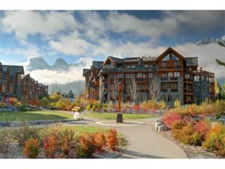505 Spring Creek Drive #400, Canmore, AB T1W 0C5 (#C4111631) :: Canmore & Banff