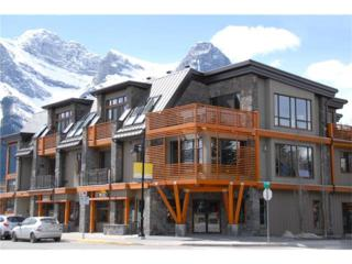 901 8th Avenue #203, Canmore, AB T1W 1Z7 (#C4093323) :: Canmore & Banff