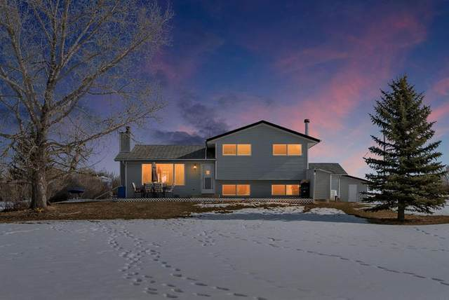 118019 380 Avenue E, Rural Foothills County, AB T1S 1N3 (#C4288066) :: Canmore & Banff