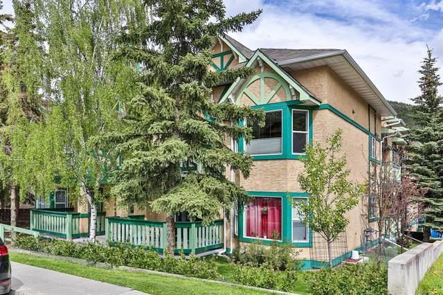 110 Beaver Street #204, Banff, AB T1L 1A1 (#A1006612) :: Canmore & Banff