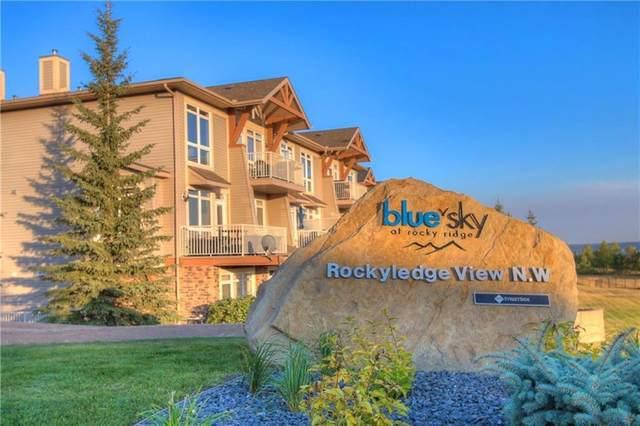 148 Rockyledge View NW #10, Calgary, AB T3G 5Y4 (#A1009253) :: Calgary Homefinders