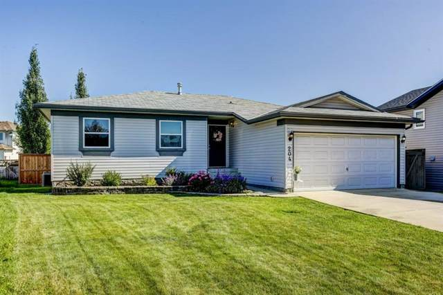 204 200 Carriage Lane Place, Carstairs, AB T0M 0N0 (#A1010277) :: Calgary Homefinders