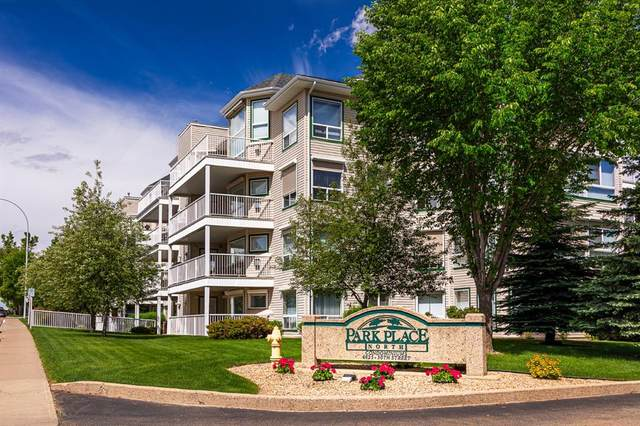 4625 50 Street 303A, Camrose, AB T4V 4P5 (#A1010569) :: Canmore & Banff