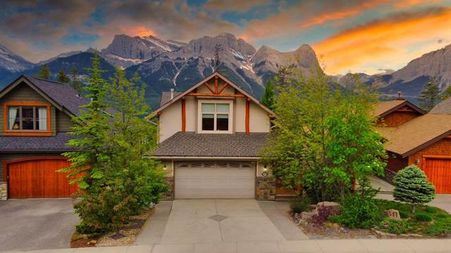 337 Eagle Heights, Canmore, AB T1W 3C9 (#A1010855) :: Team J Realtors