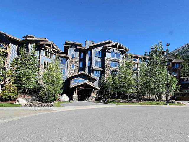 150 Stonecreek Road #102, Canmore, AB T1W 3J2 (#A1011192) :: Canmore & Banff