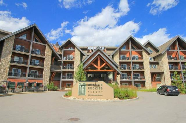 901 Mountain Street #130, Canmore, AB T1W 0C9 (#A1011336) :: Canmore & Banff