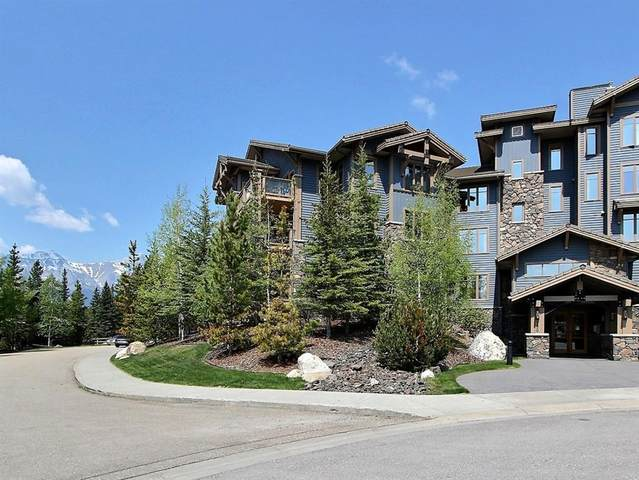 150 Stonecreek Road #101, Canmore, AB T1W 3J2 (#A1011396) :: Canmore & Banff