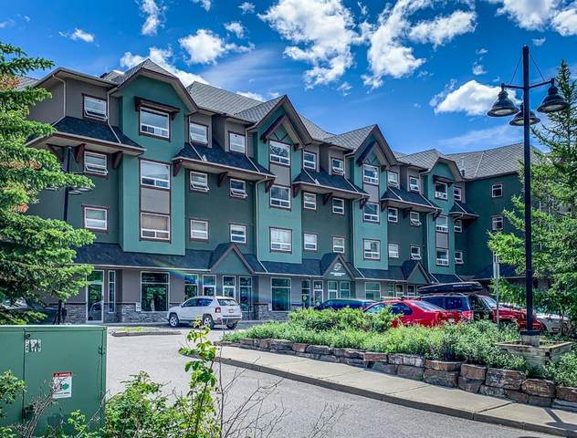 180 Kananaskis Way NE #319, Canmore, AB T1W 3C6 (#A1011761) :: Canmore & Banff