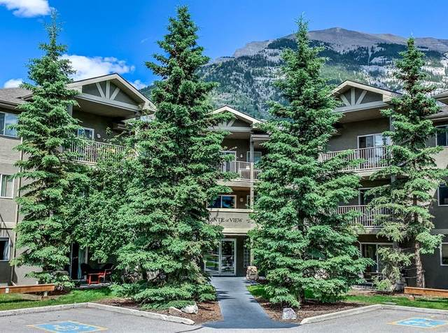 115 Elk Run Boulevard #218, Canmore, AB T1W 1G8 (#A1012317) :: Canmore & Banff