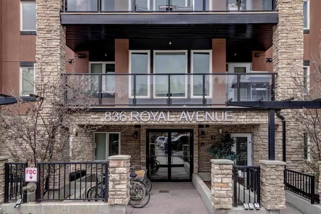 836 Royal Avenue SW #110, Calgary, AB T2T 0L2 (#A1012905) :: Redline Real Estate Group Inc
