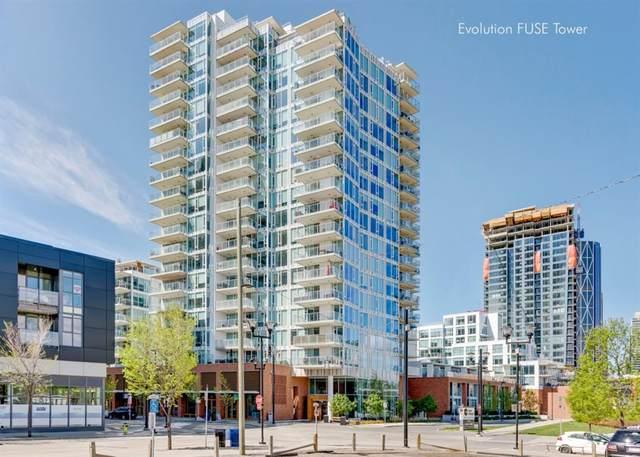 519 Riverfront Avenue SE #1405, Calgary, AB T2G 1K6 (#A1013879) :: Redline Real Estate Group Inc