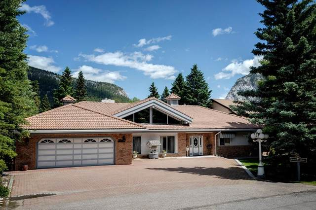 100 Mountain Lane, Banff, AB T1L 1E3 (#A1014264) :: Redline Real Estate Group Inc
