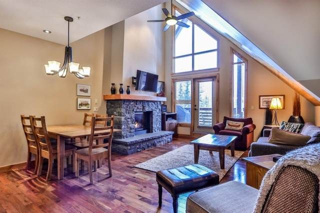 379 Spring Creek Drive #400, Canmore, AB T1W 0G8 (#A1014555) :: Canmore & Banff