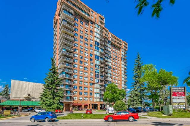 145 Point Drive NW #1604, Calgary, AB T3B 4W1 (#A1014757) :: Canmore & Banff