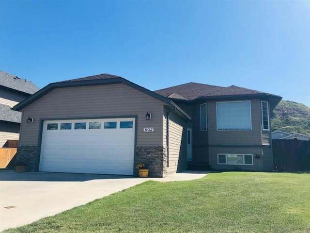 602 Greene Close, Drumheller, AB T0J 0Y0 (#A1015554) :: Canmore & Banff