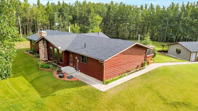 1 Woodland Drive, Rural Ponoka County, AB T4J 1R3 (#A1015761) :: The Cliff Stevenson Group