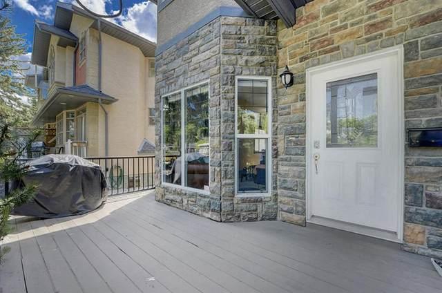 3421 5 Avenue NW #1, Calgary, AB T2N 0V4 (#A1015838) :: Redline Real Estate Group Inc