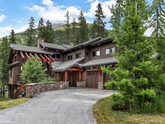 708 Silvertip Heights, Canmore, AB T1W 3K9 (#A1016082) :: Canmore & Banff