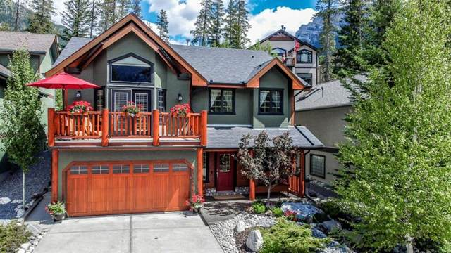 1052 Benchlands Trail, Canmore, AB T1W 3B6 (#A1016835) :: Canmore & Banff