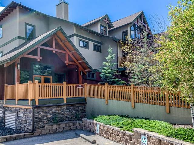 801 Benchlands Trail #105, Canmore, AB T1W 0B6 (#A1016876) :: Team J Realtors