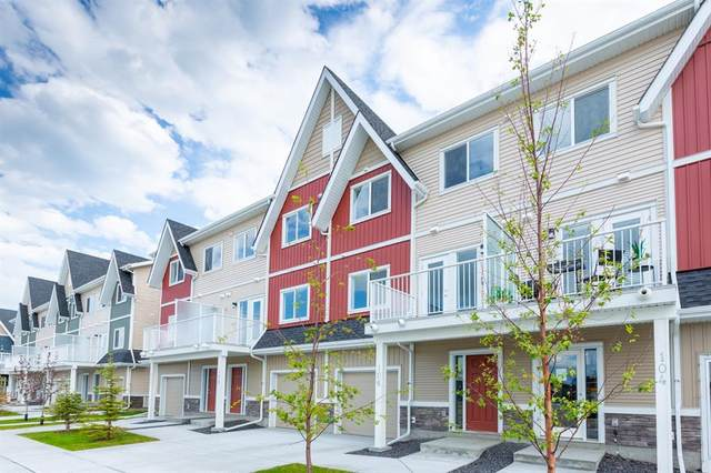 32 Red Embers Parade NE #106, Calgary, AB T3N 1P7 (#A1016931) :: Redline Real Estate Group Inc