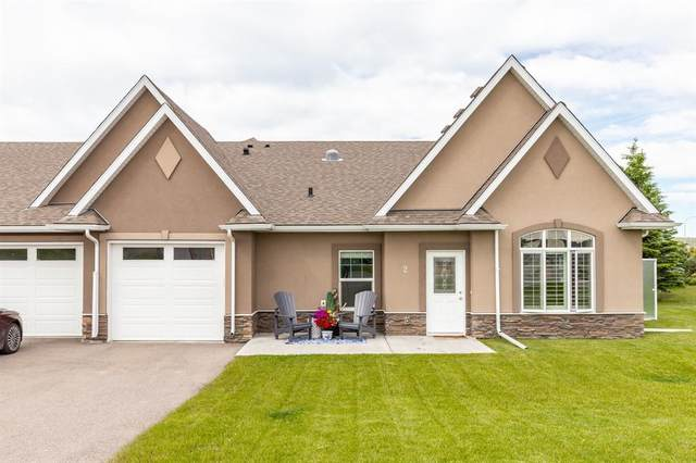 20 River Heights View #2, Cochrane, AB T4C 0M9 (#A1017188) :: Calgary Homefinders