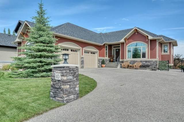 10 Cimarron Estates Link, Okotoks, AB T1S 0C6 (#A1017261) :: Canmore & Banff
