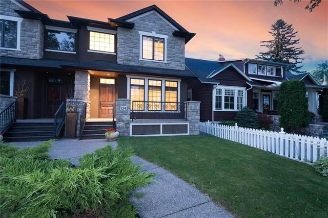 134 8 Avenue NW, Calgary, AB T2M 0A4 (#A1017978) :: Redline Real Estate Group Inc