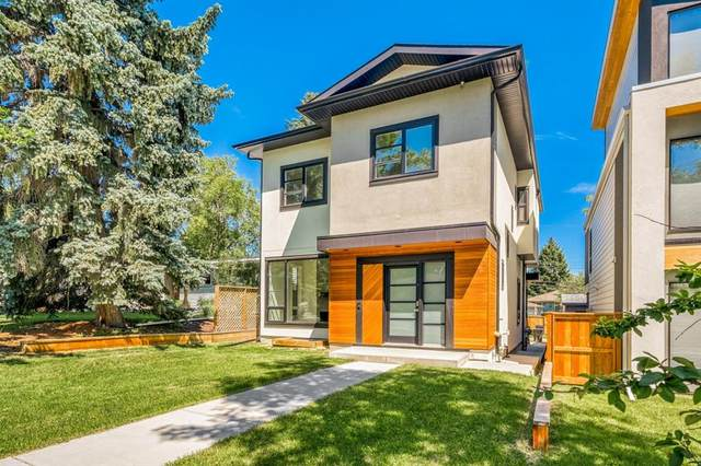108 Hendon Drive NW, Calgary, AB T2K 1Y8 (#A1018512) :: Canmore & Banff